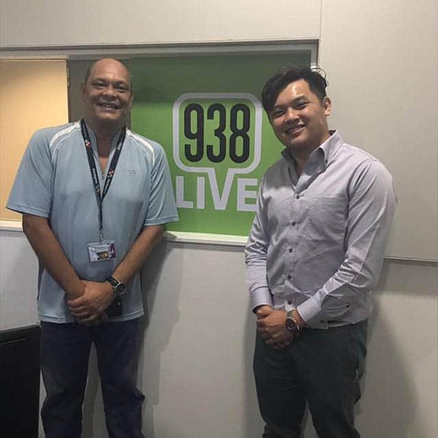 James Soh, on 938 radio interview.